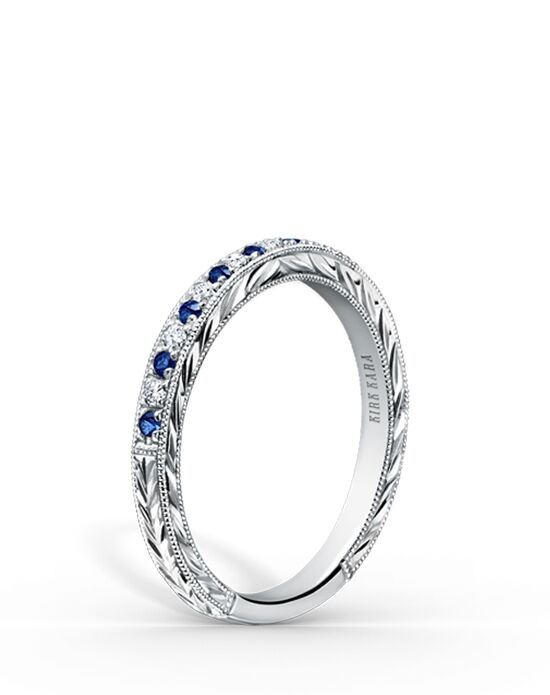 Kirk Kara K1170SD-B White Gold Wedding Ring