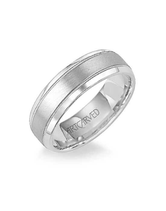 ArtCarved 11-WV7316PD Gold Wedding Ring