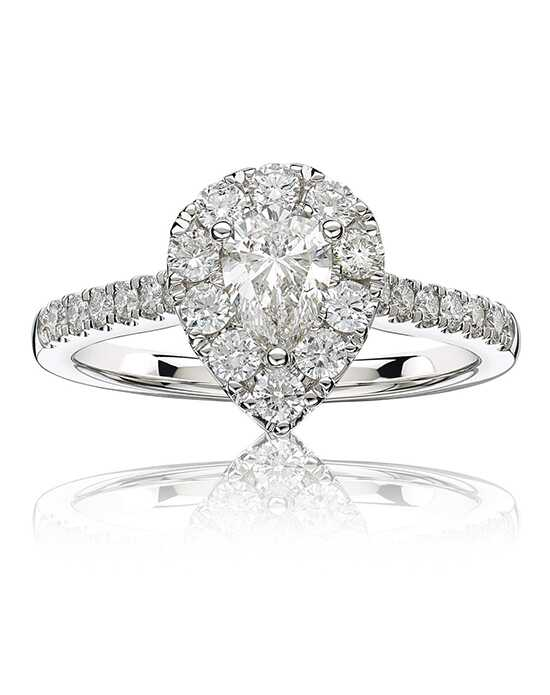 Rogers & Hollands® Glamorous Pear Cut Engagement Ring