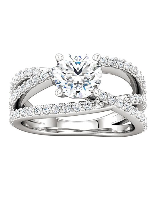 ever&ever Glamorous Princess, Asscher, Cushion, Emerald, Round, Oval Cut Engagement Ring