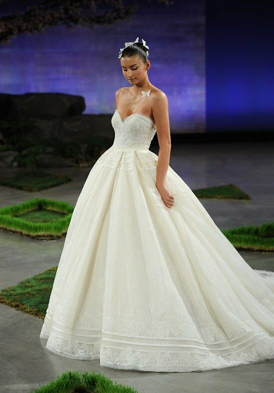 Ines di santo jillian wedding dress the knot for Ines di santo wedding dresses prices