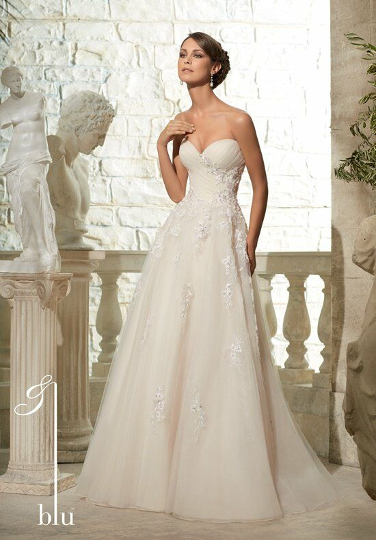 Morilee by madeline gardner blu 5302 wedding dress the knot for How do you preserve a wedding dress