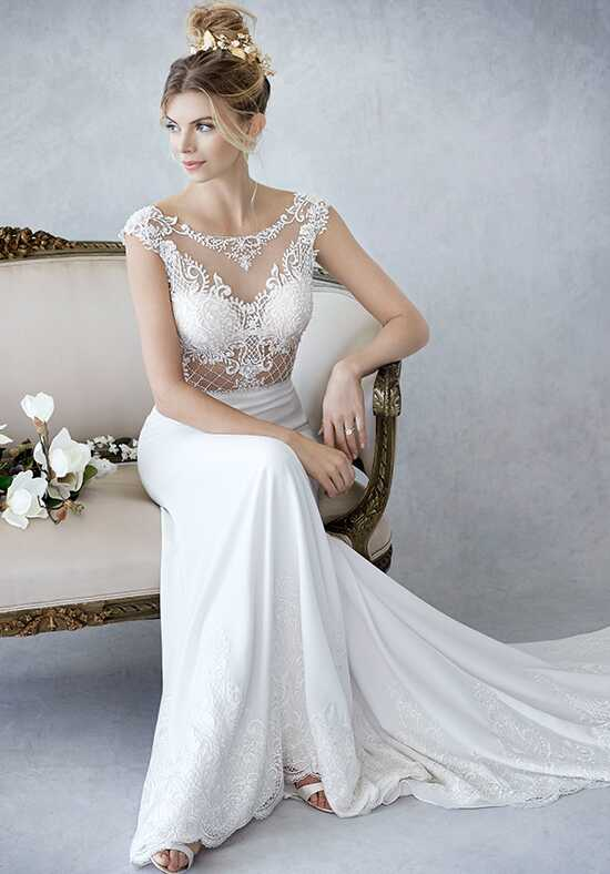 Kenneth Winston: Ella Rosa Collection BE423 Mermaid Wedding Dress