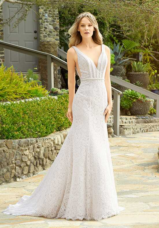 Moonlight Couture H1332 Mermaid Wedding Dress