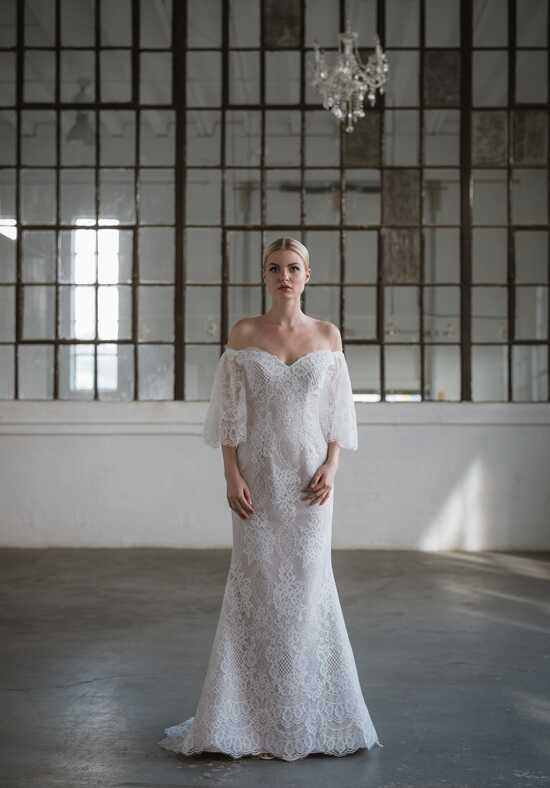 Lis Simon Issa Mermaid Wedding Dress