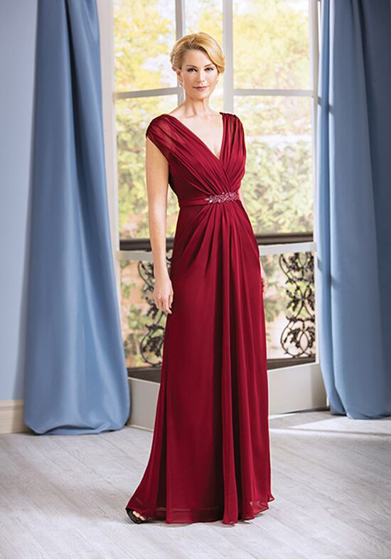 Jade J185057 Red Mother Of The Bride Dress