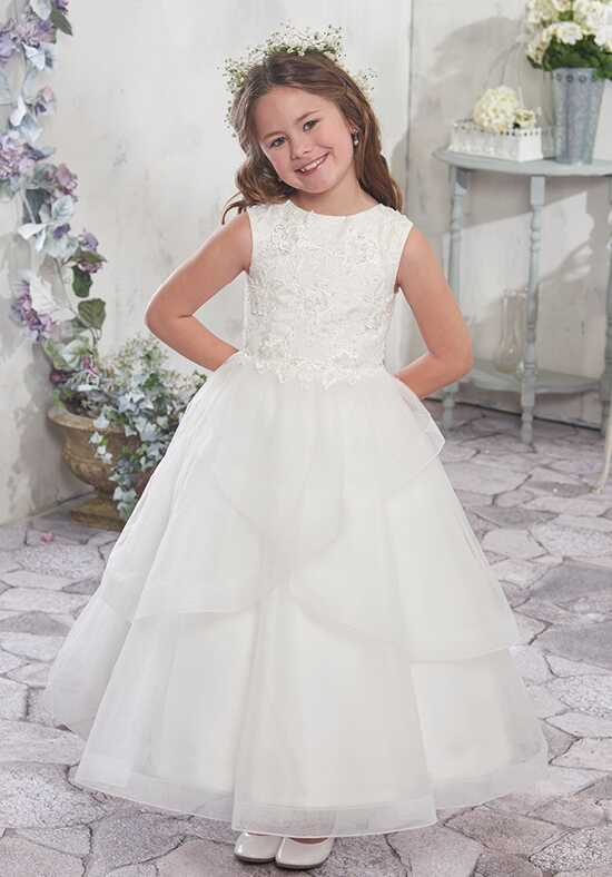 Mary's Angel by Mary's Bridal MB9006 Blue Flower Girl Dress