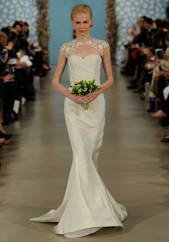 Oscar de la Renta Bridal 2014 Look 29 Mermaid Wedding Dress