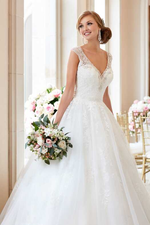 Stella York 6358 Ball Gown Wedding Dress