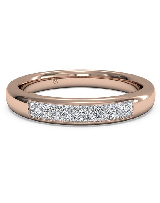Ritani Women's Channel-Set Diamond Wedding Band - in 18kt Rose Gold (0.25 CTW) Rose Gold Wedding Ring