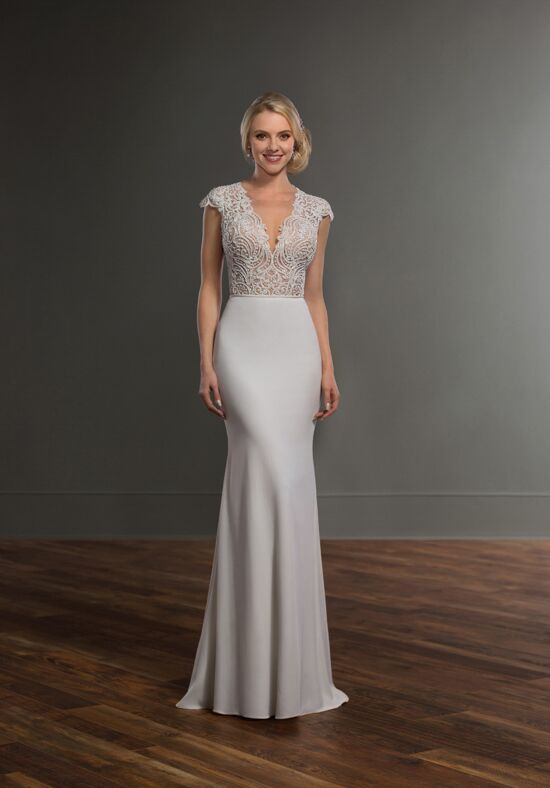 Martina Liana Bayley + Sanja Sheath Wedding Dress