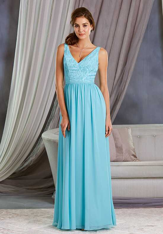 Alfred Angelo Signature Bridesmaids Collection 7377L V-Neck Bridesmaid Dress