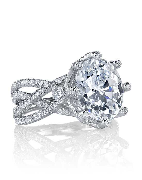 Erica Courtney Gorgeous & Engaged Glamorous Oval Cut Engagement Ring