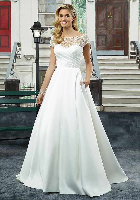 Justin Alexander 8943 Ball Gown Wedding Dress