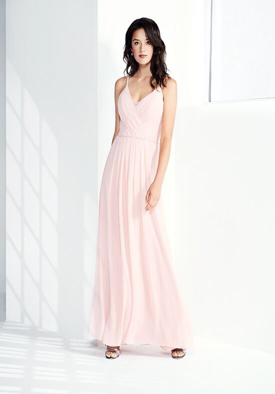 Colour by Kenneth Winston 5275L V-Neck Bridesmaid Dress