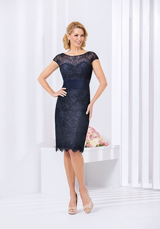 Jasmine Black Label M180062 Black Mother Of The Bride Dress