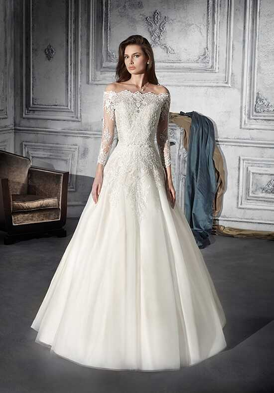Demetrios 734 A-Line Wedding Dress