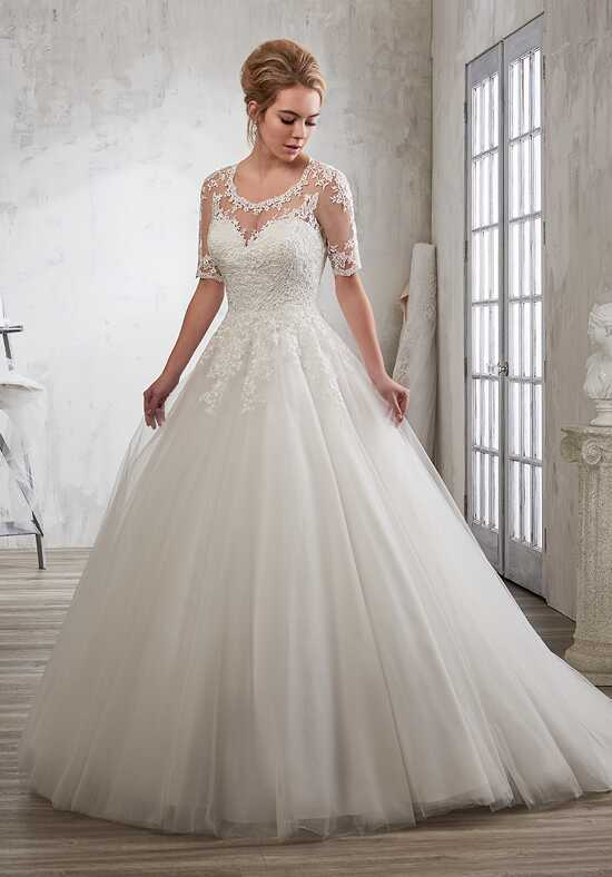1 Wedding by Mary's Bridal 6605 Ball Gown Wedding Dress