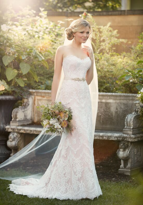 Essense of Australia D2106 Sheath Wedding Dress