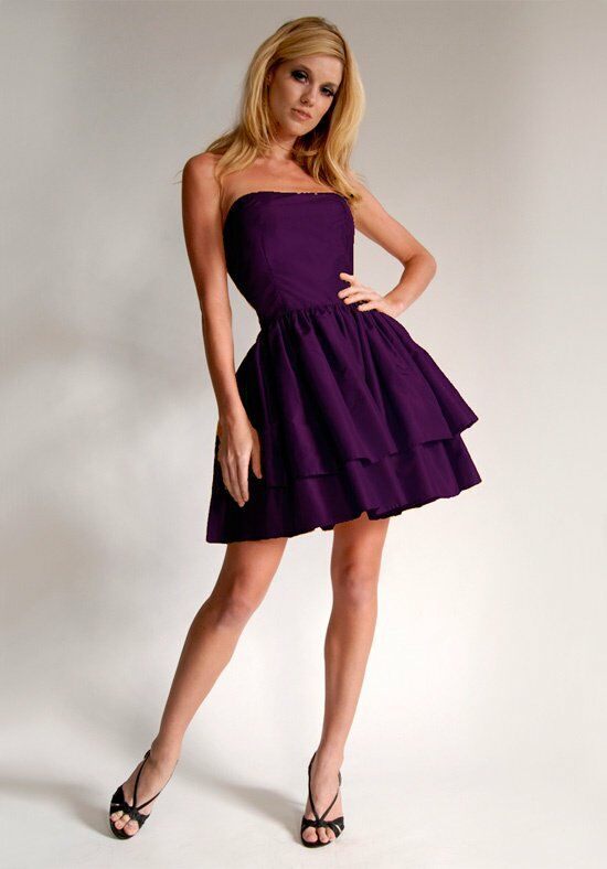 Elizabeth St. John Social Paige Strapless Bridesmaid Dress