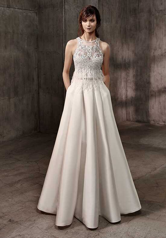 Badgley Mischka Belle Amari-BD A-Line Wedding Dress