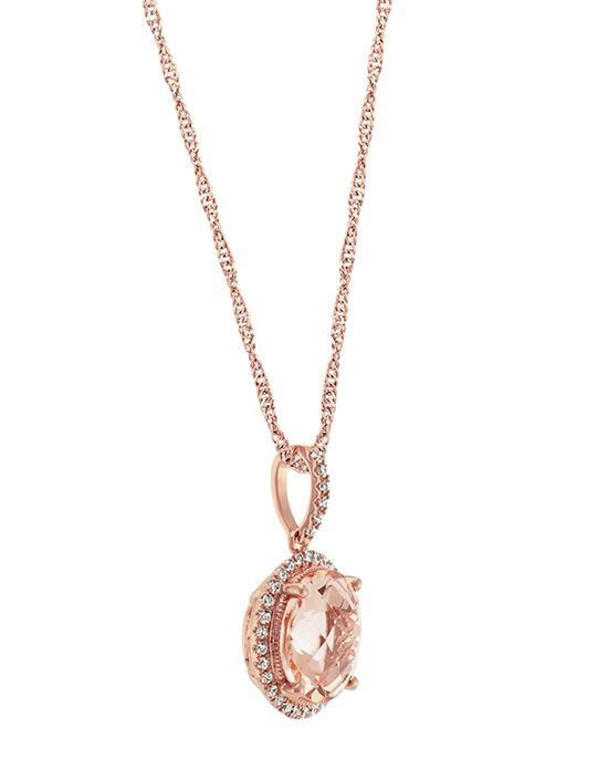 shane company jewelry shane co morganite pendant in 14k gold wedding 3865