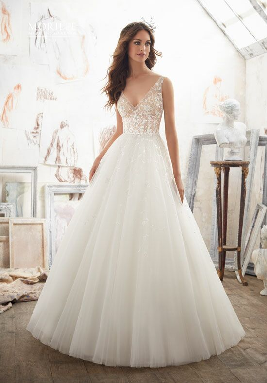 Morilee by Madeline Gardner/Blu 5515 Ball Gown Wedding Dress