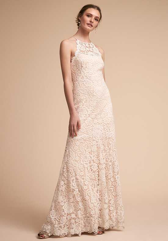 BHLDN Blythe Gown Sheath Wedding Dress