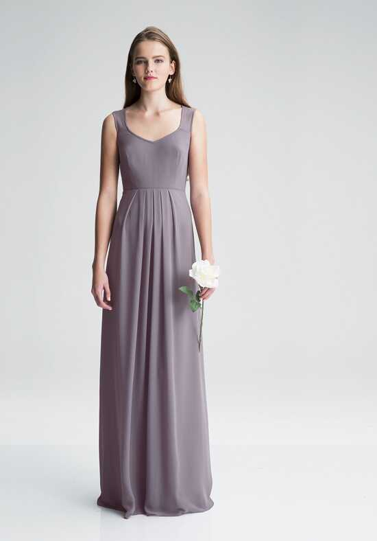 #LEVKOFF 7005 V-Neck Bridesmaid Dress