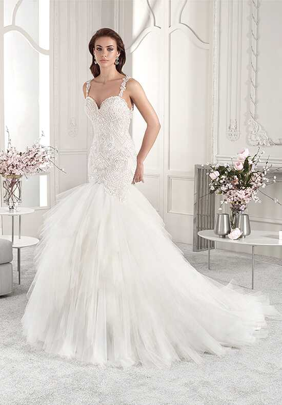 Demetrios 866 Mermaid Wedding Dress