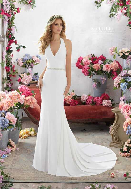 Morilee by Madeline Gardner/Voyage 6855 A-Line Wedding Dress