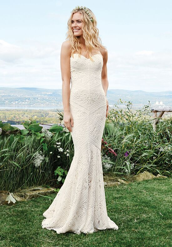 Lillian West 6425 Mermaid Wedding Dress