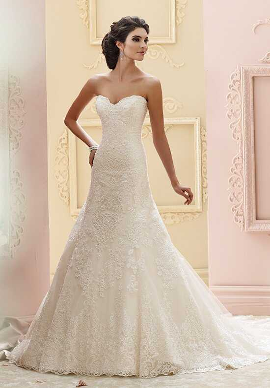 David Tutera for Mon Cheri 215265 - Katharine A-Line Wedding Dress