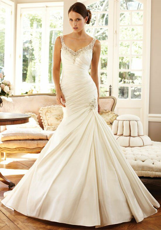 Sophia Tolli Y21372 Lilac Mermaid Wedding Dress