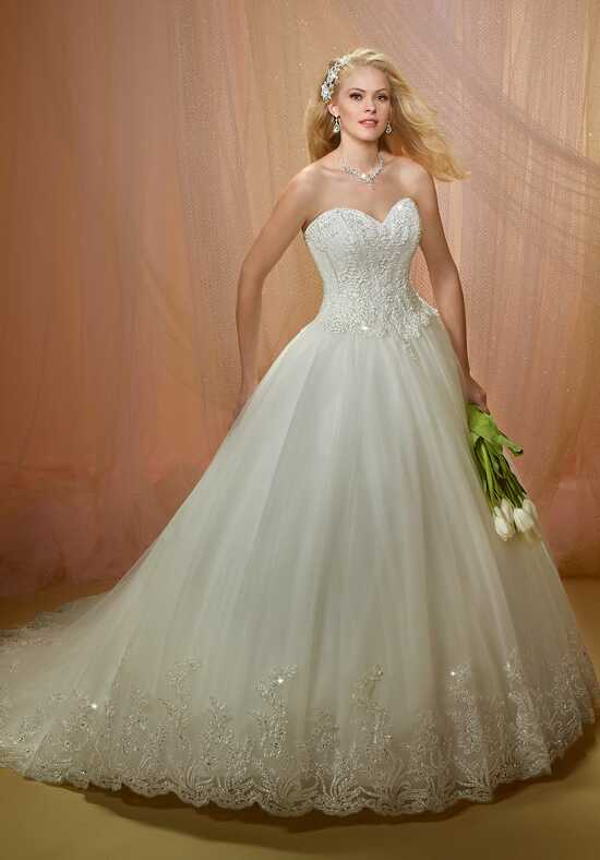 1 Wedding by Mary's Bridal 6480 Ball Gown Wedding Dress