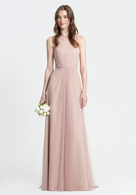 Monique Lhuillier Bridesmaids 450375 Illusion Bridesmaid Dress