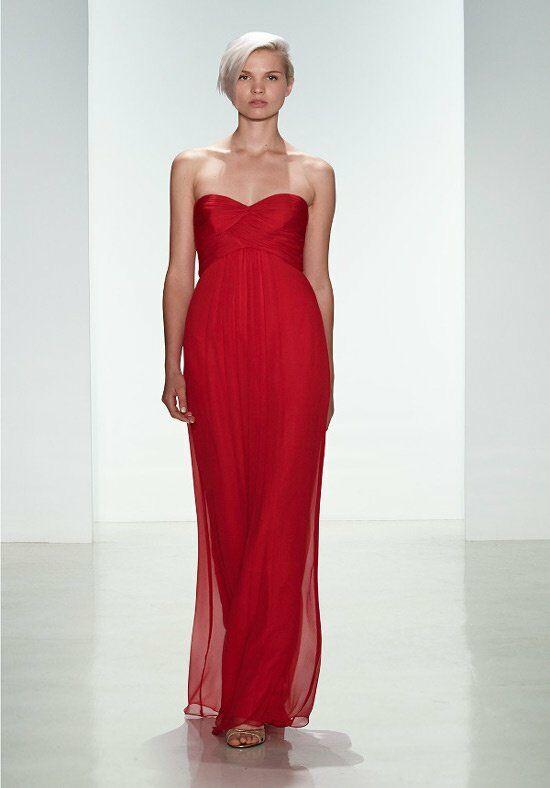 Amsale Bridesmaids G938C Strapless Bridesmaid Dress