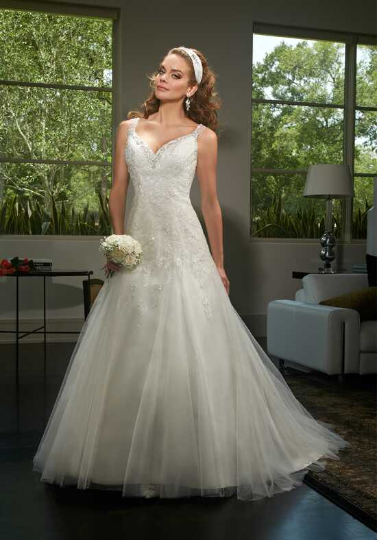 1 Wedding by Mary's Bridal 6430 A-Line Wedding Dress
