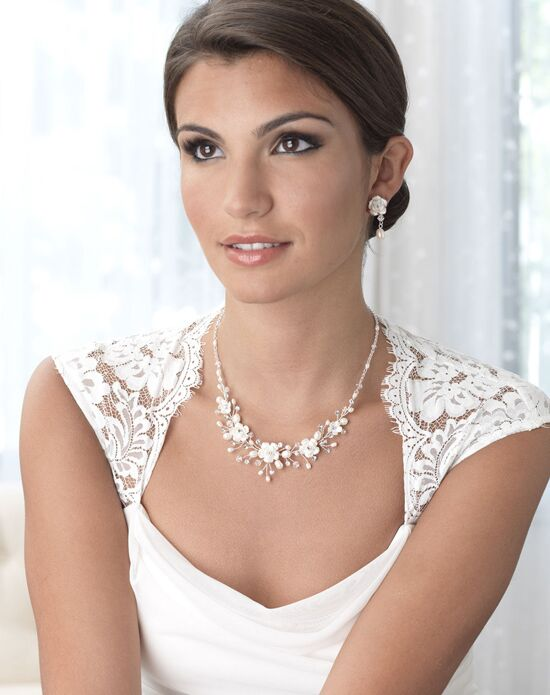 USABride Rose Flower Jewelry Set (JS-1639) Wedding Necklace photo