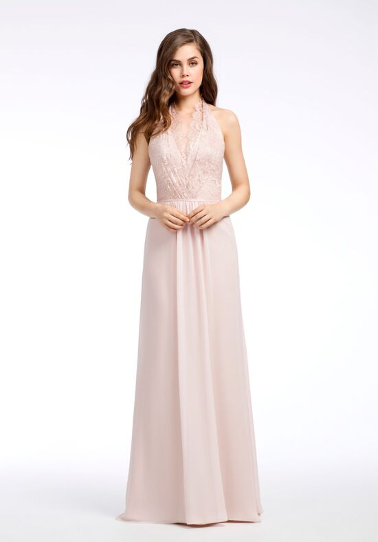 Hayley Paige Occasions 5658 V-Neck Bridesmaid Dress