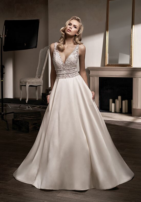 Jasmine Couture T192009 A-Line Wedding Dress