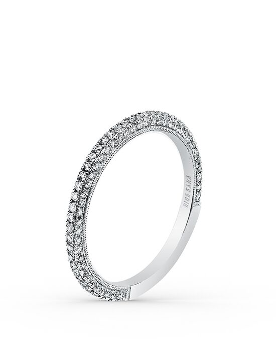 Kirk Kara Carmella Collection SS6933-B White Gold Wedding Ring