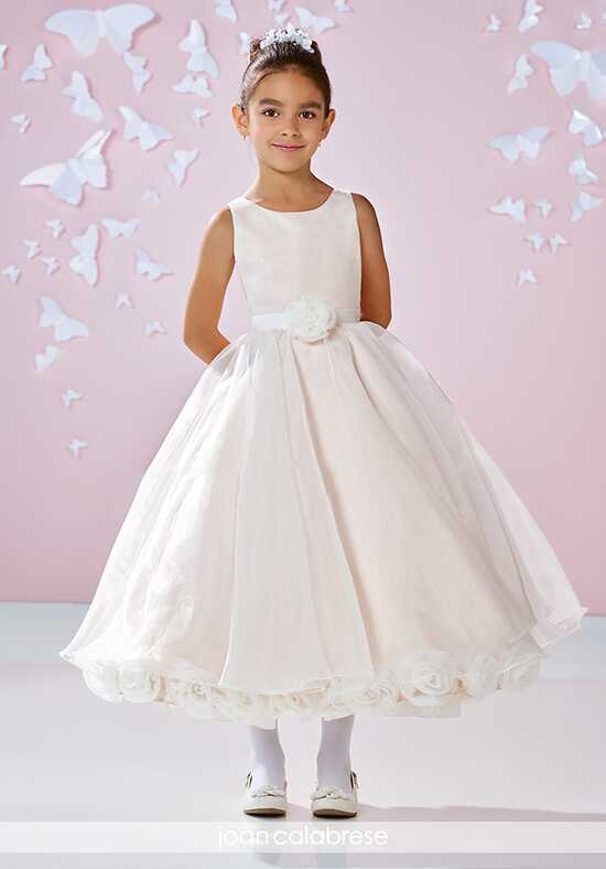 Joan Calabrese by Mon Cheri 117359 Pink Flower Girl Dress