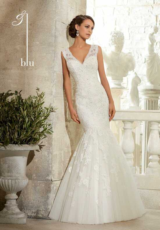 Morilee by Madeline Gardner/Blu 5313 Mermaid Wedding Dress