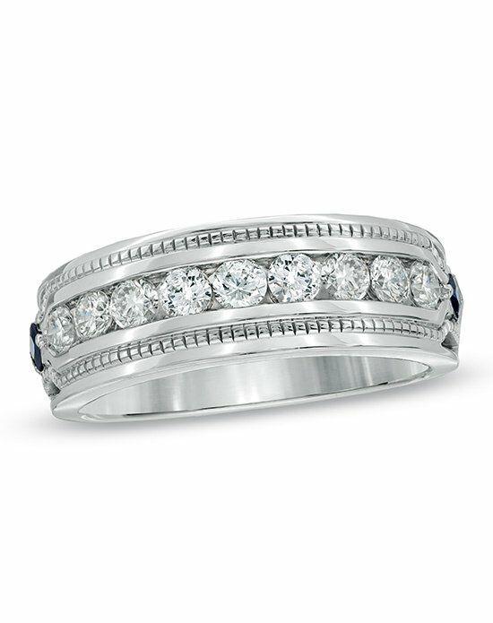 Vera Love At Zales Collection Men S 1 Ct T W Diamond Wedding