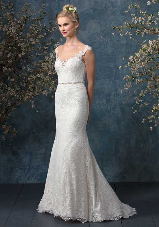 Beloved by Casablanca Bridal BL242 Cobalt Sheath Wedding Dress