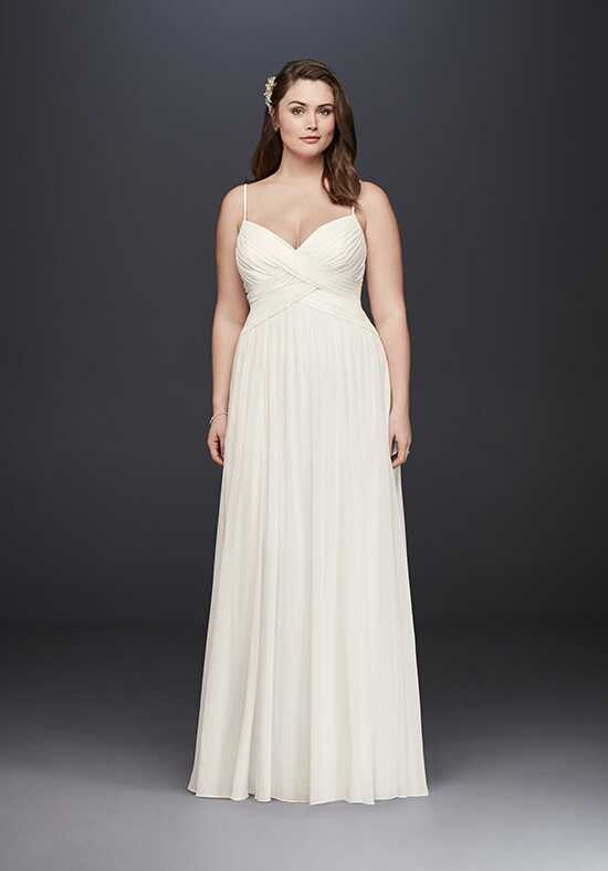 David's Bridal David's Bridal Collection Style 9WG3856 A-Line Wedding Dress