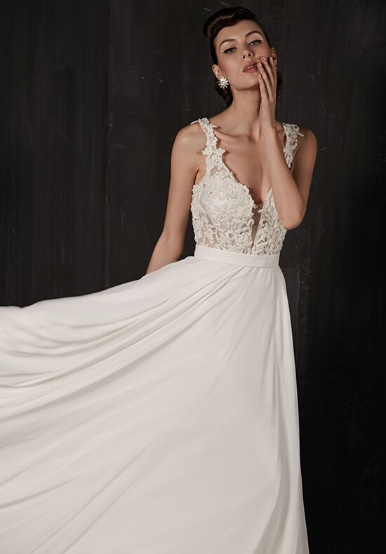 Calla Blanche 16102 A-Line Wedding Dress