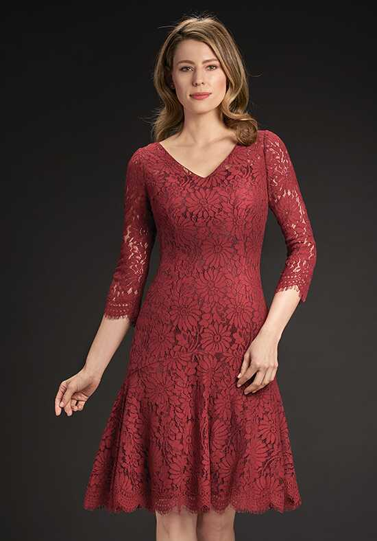Jasmine Black Label M190060 Red Mother Of The Bride Dress