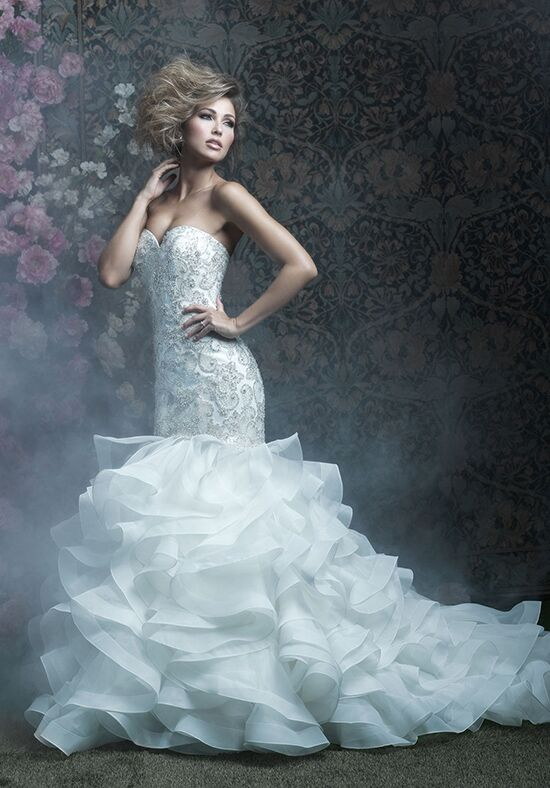 Allure Couture C410 Mermaid Wedding Dress